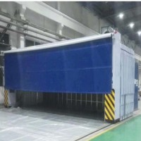 长期供应各种尺寸移动伸缩喷漆房