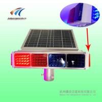 四面太阳能爆闪灯 侧面两灯警示灯 铝壳太阳能爆闪灯厂家